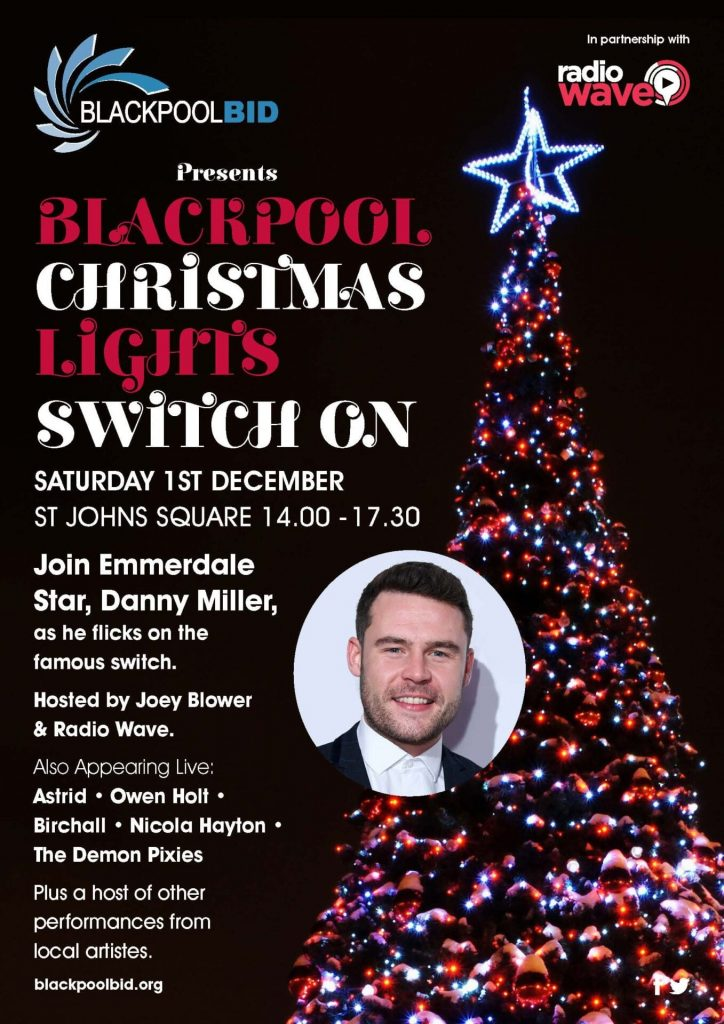 Blackpool Town Centre Christmas Switch On 2018