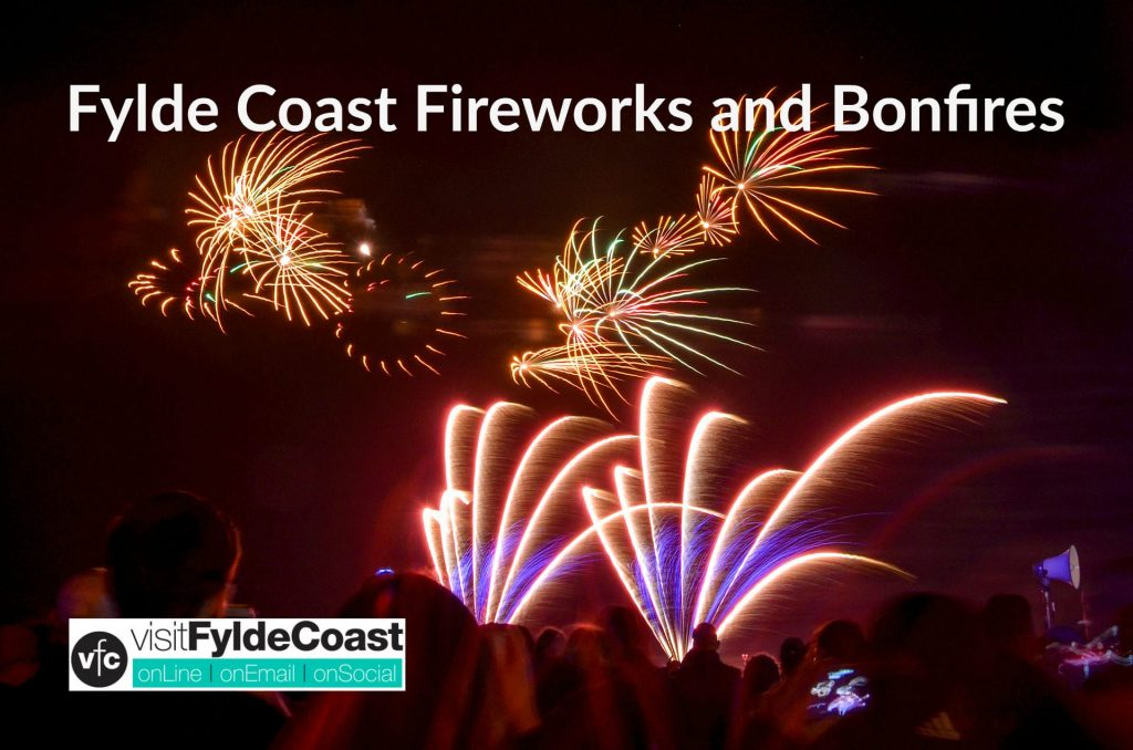 Bonfires and Fireworks - things to do with Visit Fylde Coast
