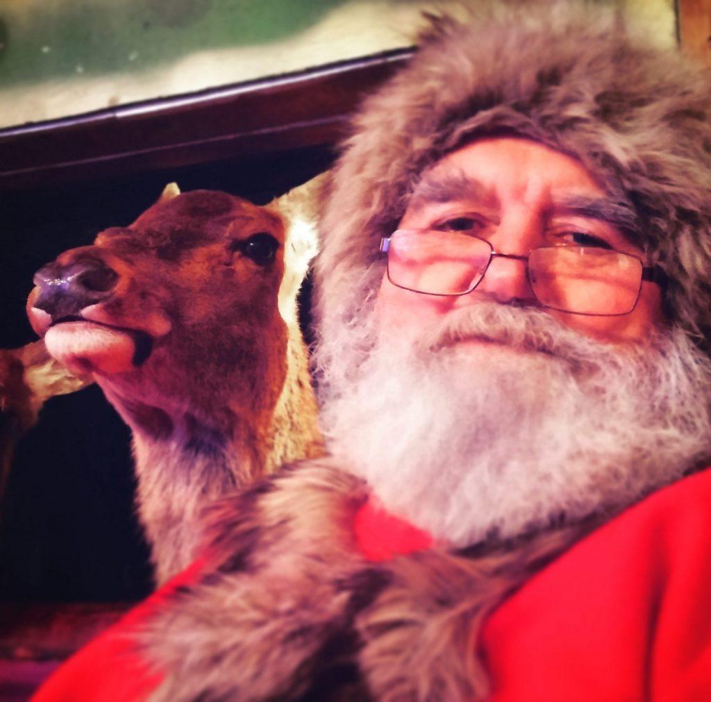 Meet Santa and Rudolph at Farmer Parrs Fleetwood