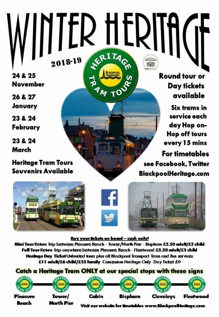 Winter Heritage Tram Tours
