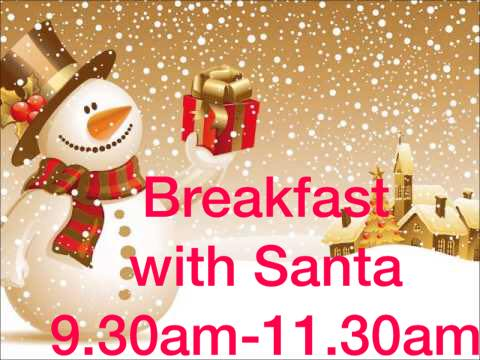 Breakfast with Santa at Bounce Play Centre