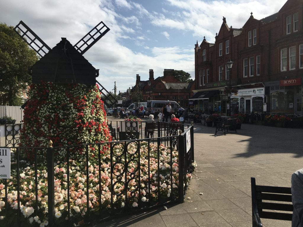Lytham in Bloom. Lytham town centre. Fylde Coast town centres