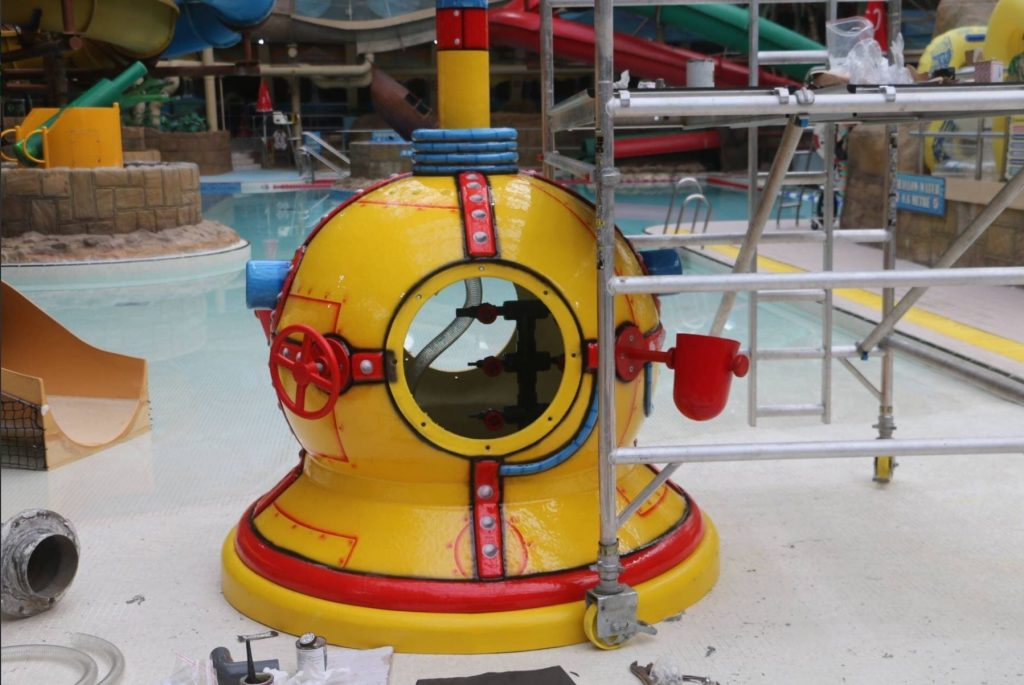 New Wave Machine at Sandcastle Waterpark