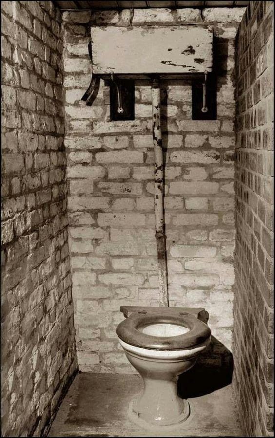 Do you remember the outside toilet?